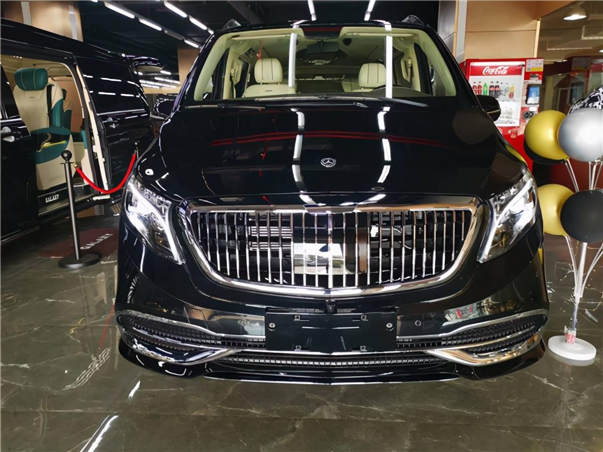 2021奔驰威庭平顶迈巴赫版新款九速商用车价格