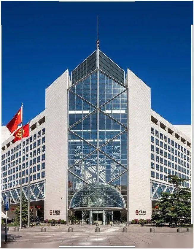北京中国银行总行_中国银行的四大地标性总部大楼!只有一个不是幕墙_建筑