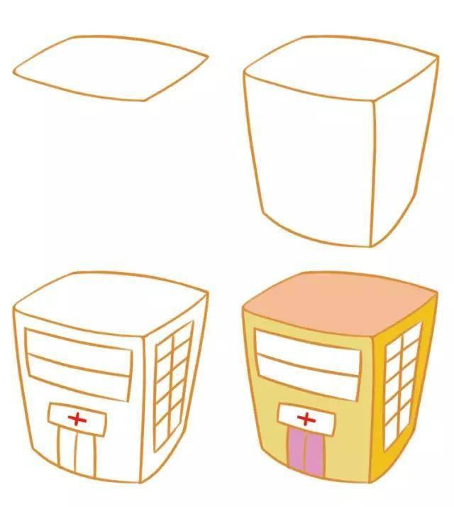 手账素材 大人孩子都能画的简笔画,玩手账必备,学画画必练