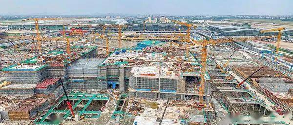 最新!萧山国际机场三期扩建工程