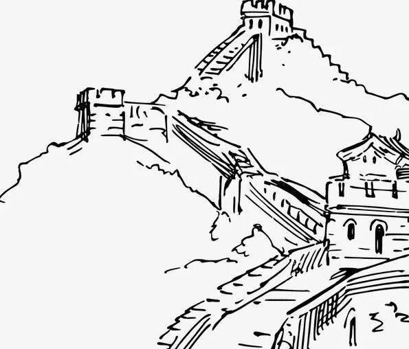中式民居 万里长城 快来看看 七人普 logo里的丰富内涵