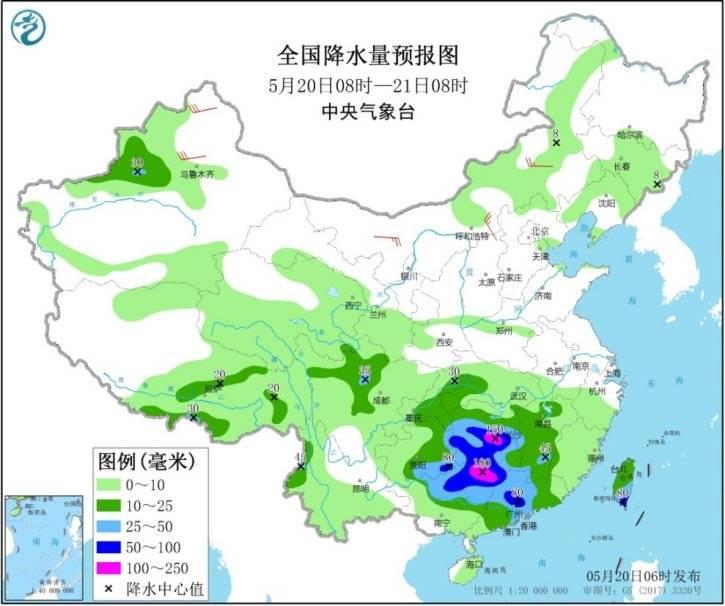 """南方本轮暴雨22日将达高峰 特强气旋风暴""""安攀"""