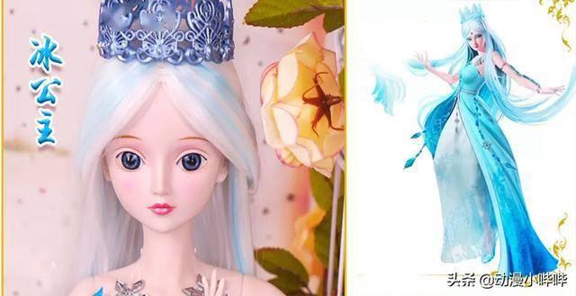叶罗丽粉丝最喜爱的五款仙子娃娃,罗丽可爱,冰公主新形态美如画