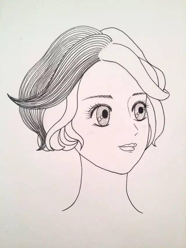 教你用马克笔画出漂亮又可爱的小姑凉,快来学习一下吧