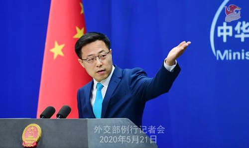 外交部:中俄两国守望相助,携手战疫