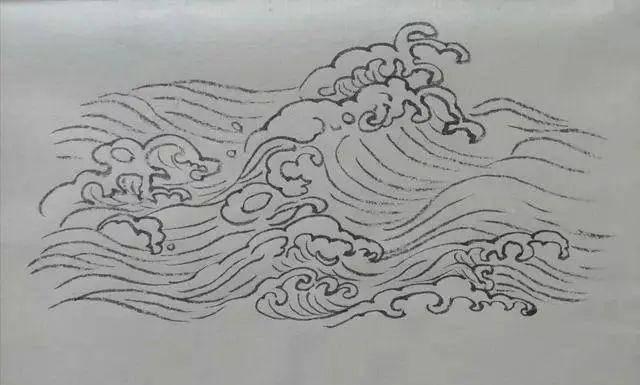 水的五种画法,简单实用 造型