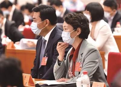 出席十三届全国人大三次会议江苏代表履职尽责