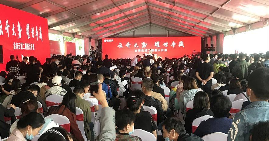 """""""科技智能+绿色生态""""复合型产品受追捧金海云城开盘走红天津"""