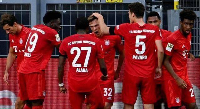 拜仁自上一年12月以来便再也没输过球,17胜1平