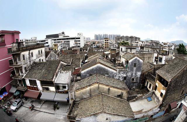 膝盖中了一箭为惠州历史建筑留下