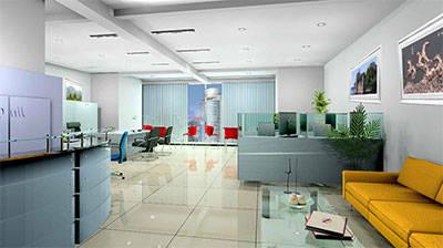 合肥20平办公室装修如何设计?这样的设计你喜欢吗?