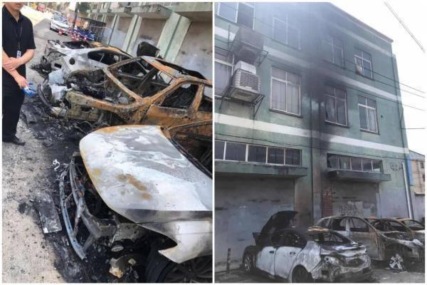 深夜,杭州3辆轿车瞬间被毁,损失40万!背后真相竟是......