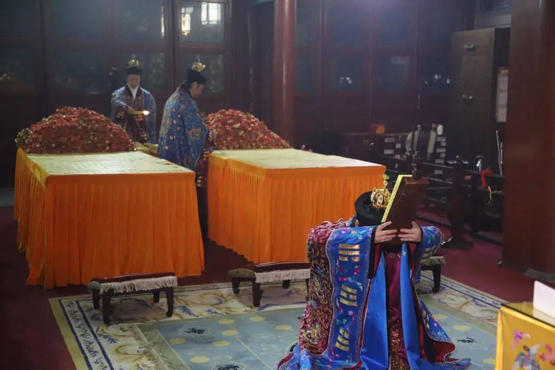 北京白云观庚子年团体拜太岁法会