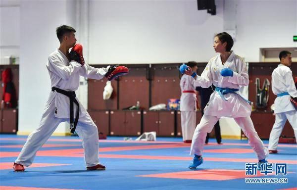 国家跆拳道队、空手道队训练备战