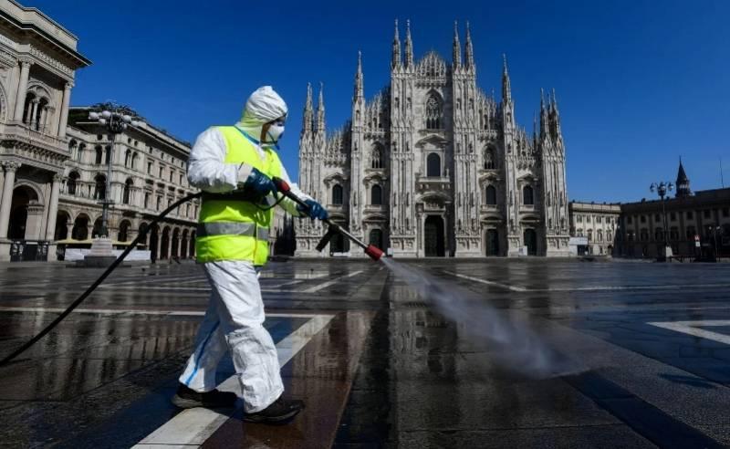 意大利下水道污水样本显示,新冠病毒去年12月已在该国传播