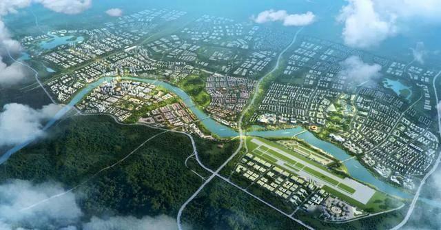 中江县凯州新城规划图