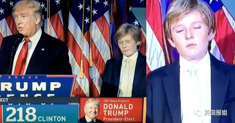 """高富帅,大长腿,川普最小儿子成了美国最玛丽苏的""""国民老公""""?"""