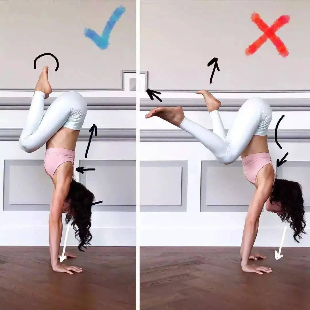 14个最常做错的瑜伽体式正误对比图,你做对了几个? 初级健身 第14张