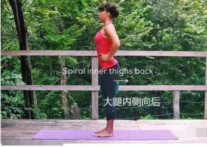 如何在瑜伽站立体式中找到稳定?(干货) 减肥窍门 第4张