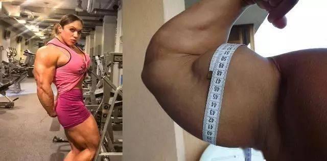 按照肌肉维度排序,这5位健身女神你更喜欢谁? 中级健身 第9张