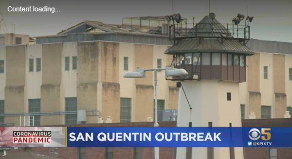 美加州一监狱暴发集体感染 1000多名囚犯确诊新冠肺炎