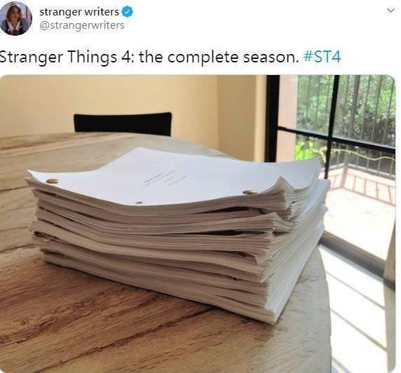 《怪奇物语》第四季将复工!9月17日重启制作