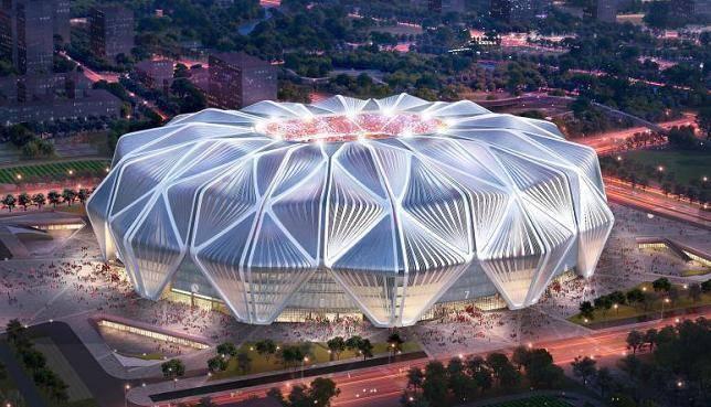 全票通过!恒大新球场设计方案集造型与线条之美高光登场