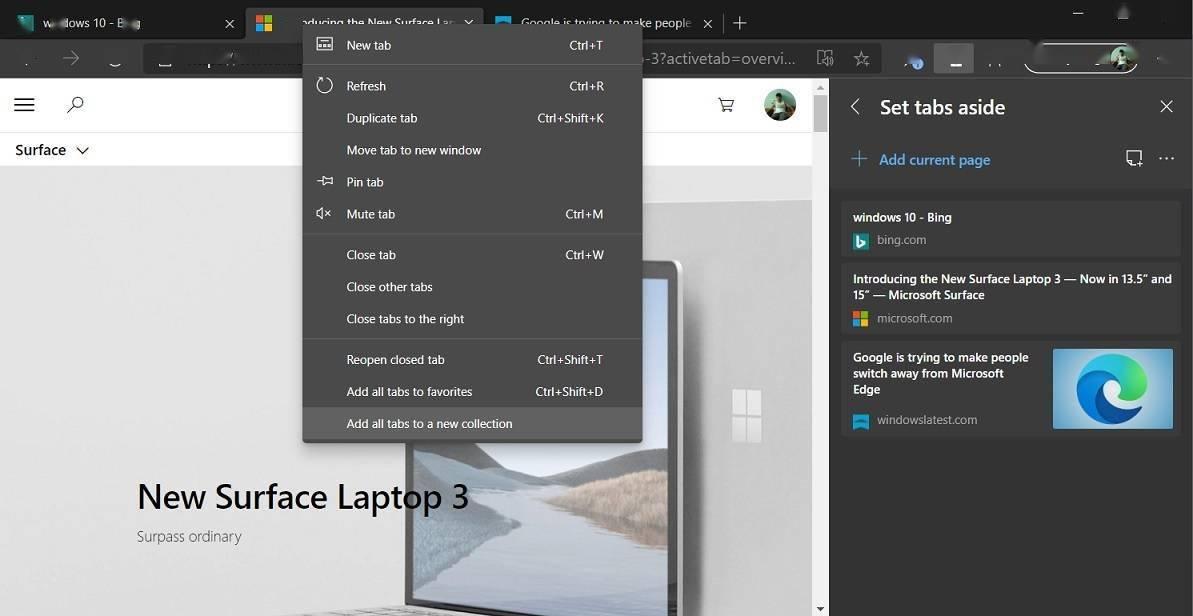 微软 Win10 大规模推送 Chromium 版 Edge 浏览器