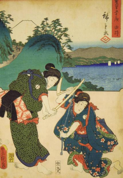 武力爆表的日本女武士,幕府将军也为之折服