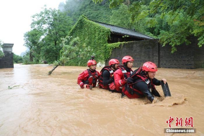今年来洪涝灾害已致3385万人次受灾 141人死亡失踪