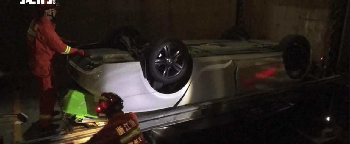 浙江一自动停车场发生坠车事故致人死亡,已被禁止使用
