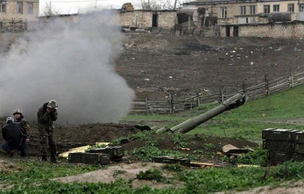 阿塞拜疆和亚美尼亚地区发生军事冲突,造成人