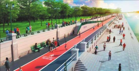 哈尔滨升级沿江绿道建设慢行区域