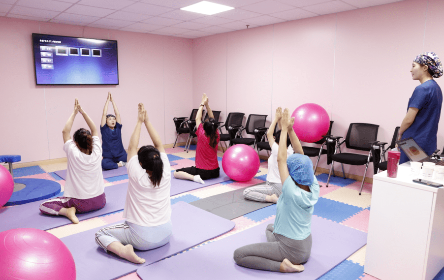 """""""孕""""动起来,我院产科孕妇瑜伽班免费开课啦!"""