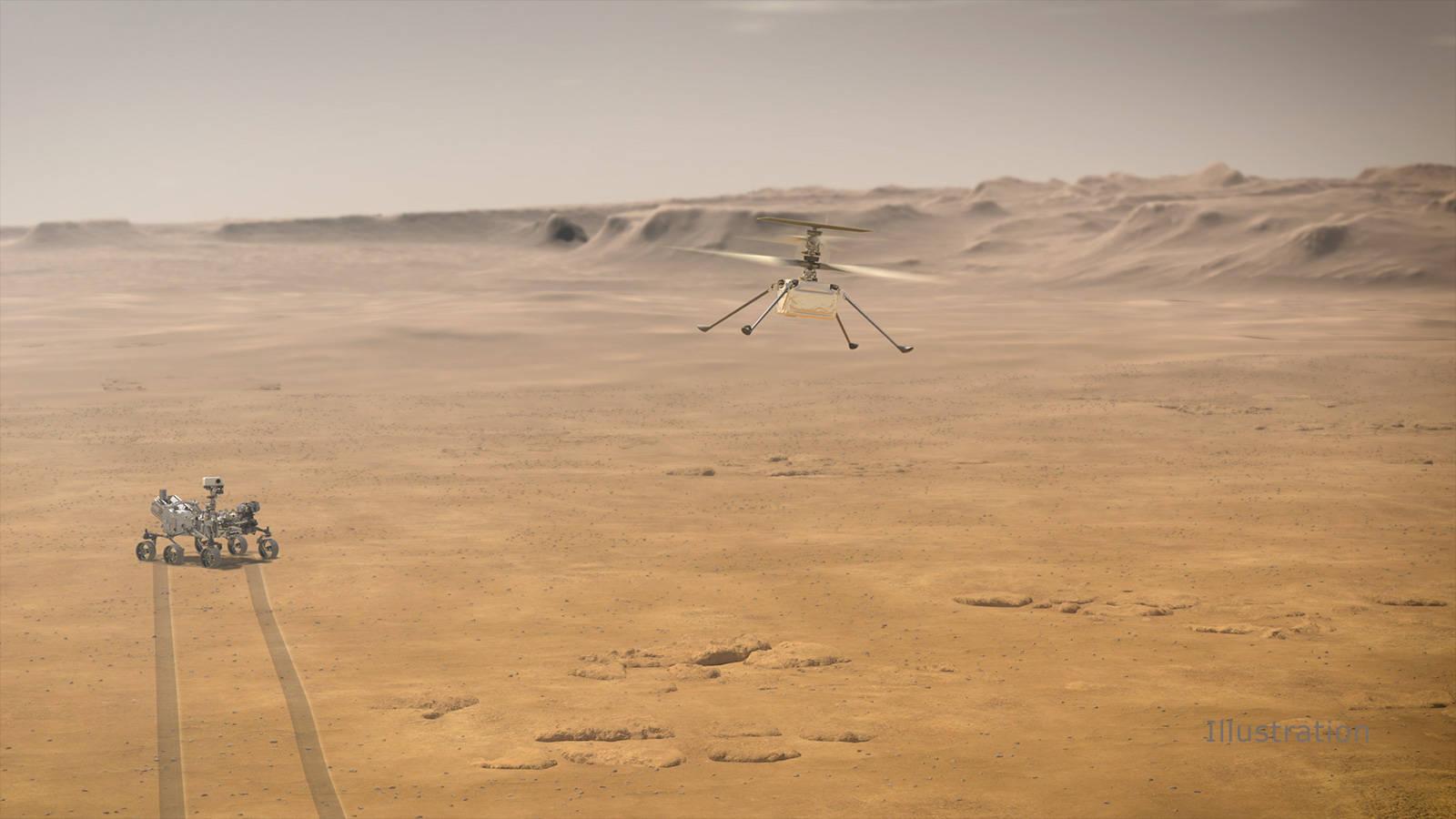 大气密度不足地球1%,NASA的火星直升机能成功吗?