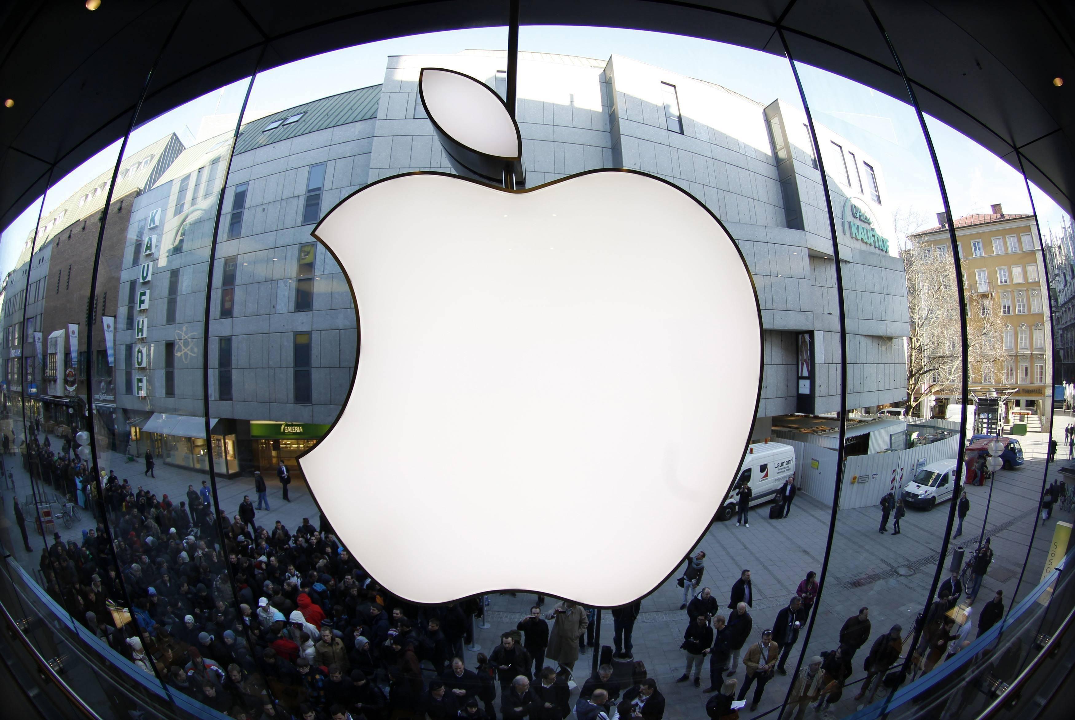 本命年饰品店苹果大赚:但股价又到了挤