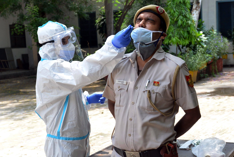 印度累计新冠确诊病例超过170万例