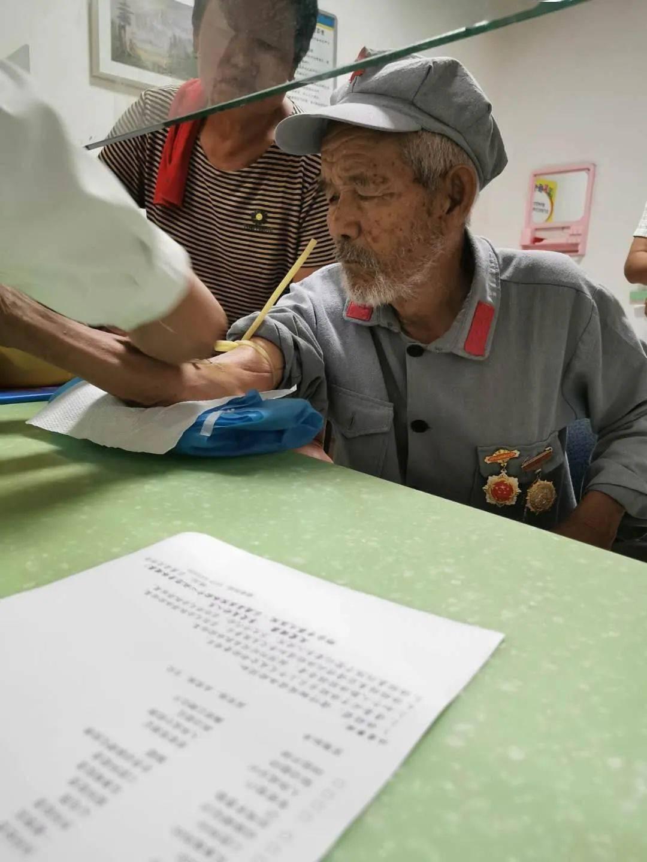"""情系""""八一"""",体检中心公益活动暖人心~"""