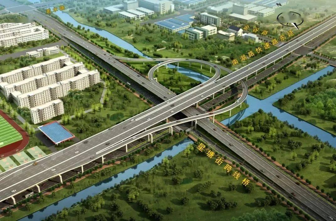标准横断面图   苏州中环快速路园区段规划   作为中环快速路的其中一段,中环快速路园区段(东方大道快速化)一直都受到大家关注!