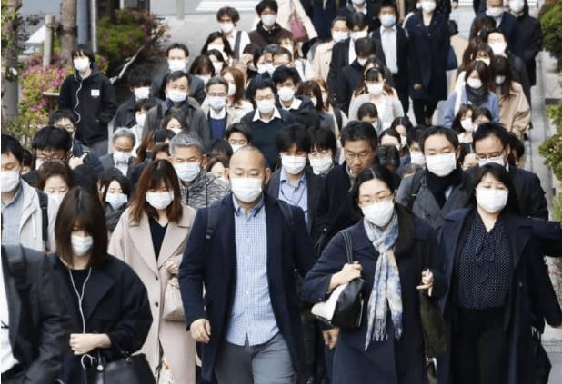 六成日本人出现新冠疑似仍上班