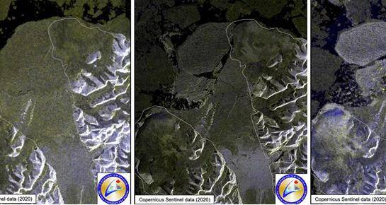 加拿大最后一个冰架解体 7月底面积骤减超40%