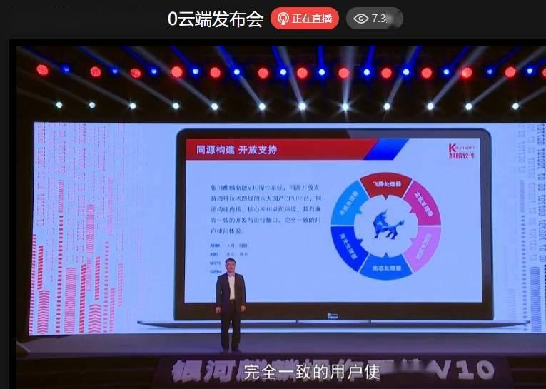 倪光南︰麒麟操作系統安全等級已達到國內最高等級