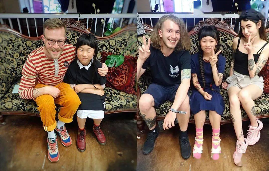 太酷了!日本女孩6岁入行,是全世界最小纹身师…看完我却只想拥有同款爸爸!插图(5)