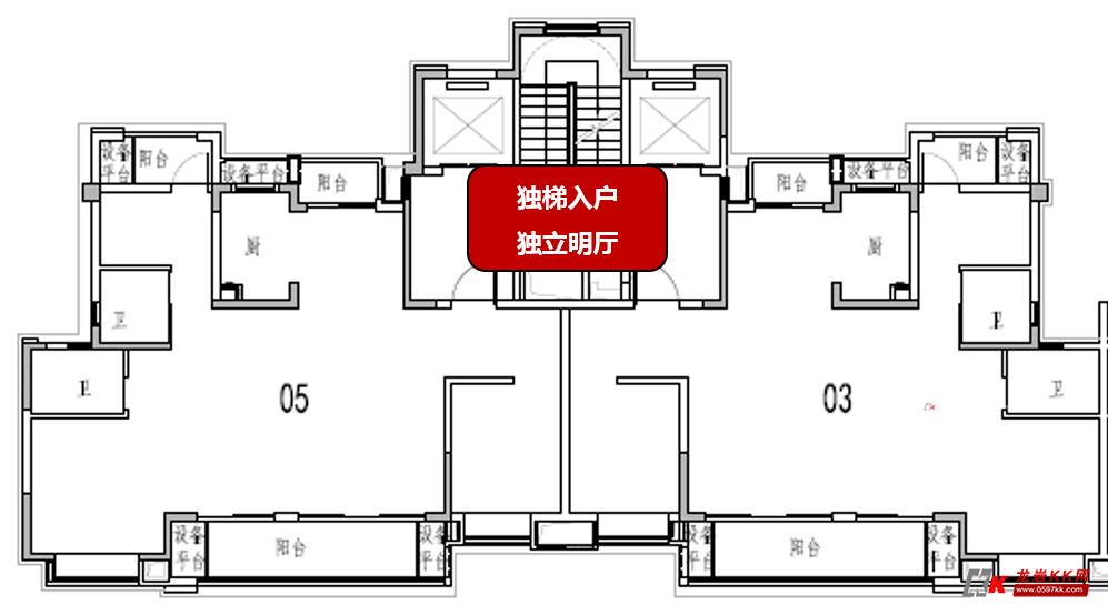 9x9mcad平面图