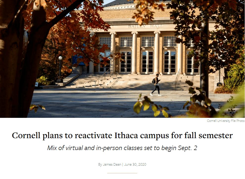 重磅!康奈尔大学正式公布2024届录取数据!