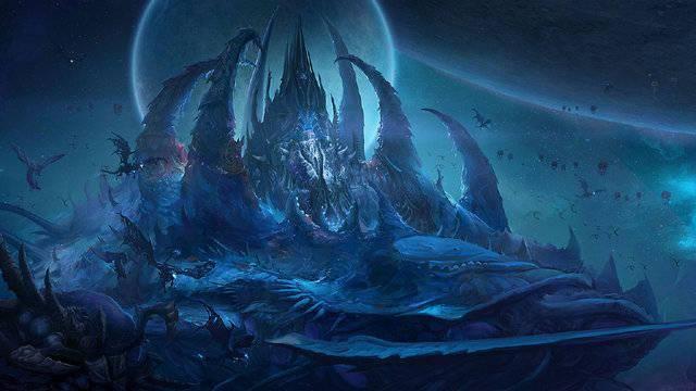 《风暴英雄》官推发布新图:虫族风格的冰封王座与艾瑞达风格的亚顿之矛