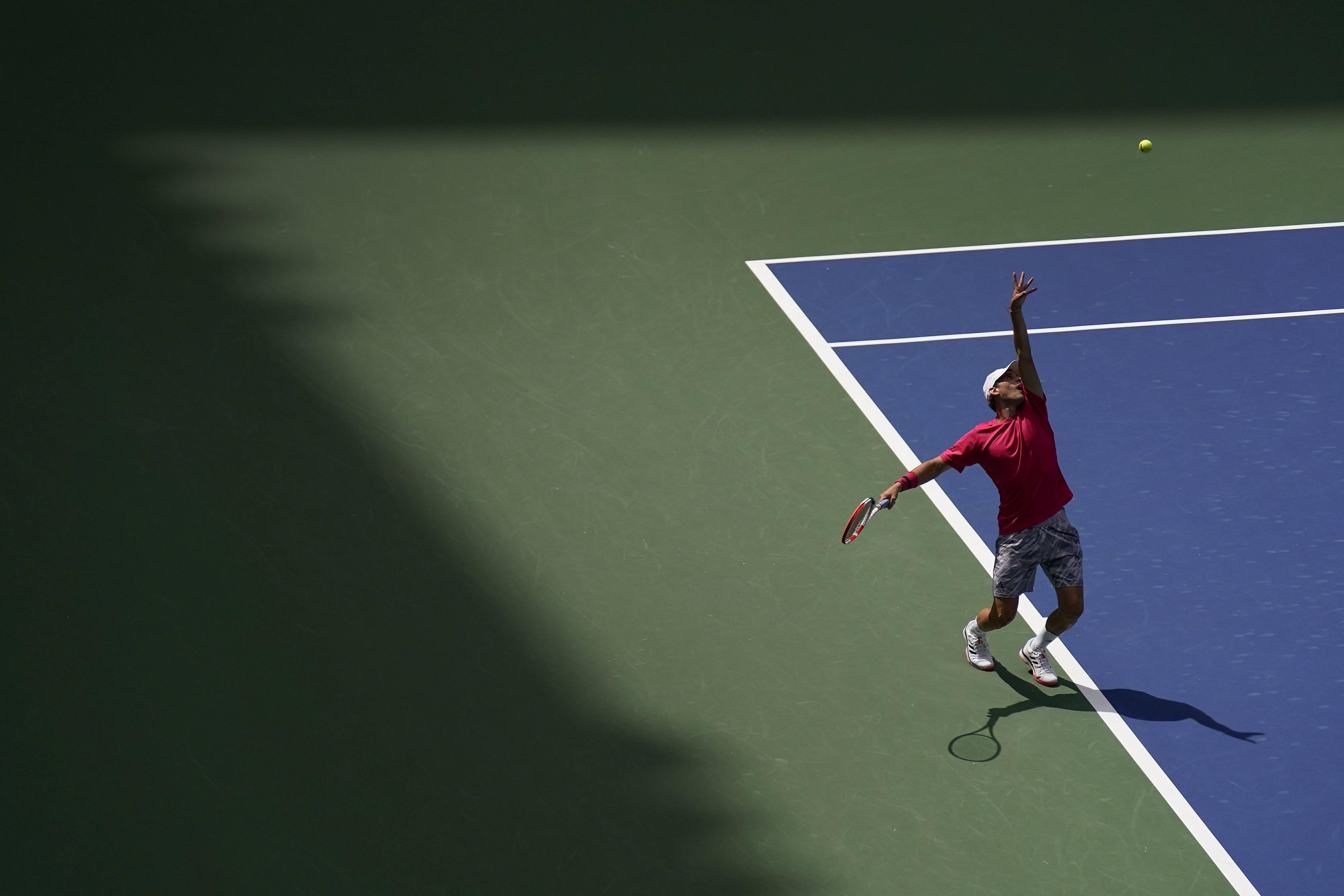 网球——美网:蒂姆晋级