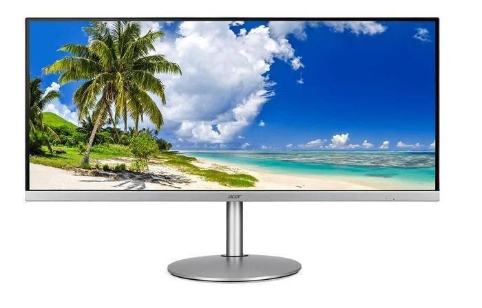宏碁发布CB342CKC OmegaLine宽屏4K显示器 支持75Hz FreeSync