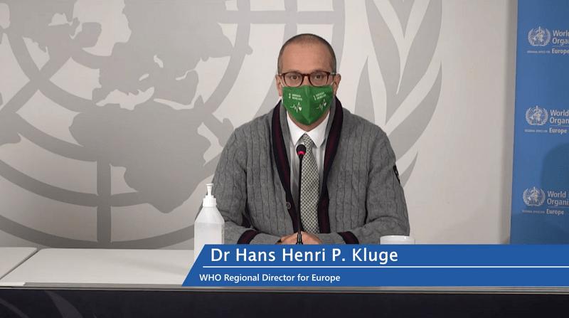世卫组织欧洲服务处:欧洲新型冠状病毒