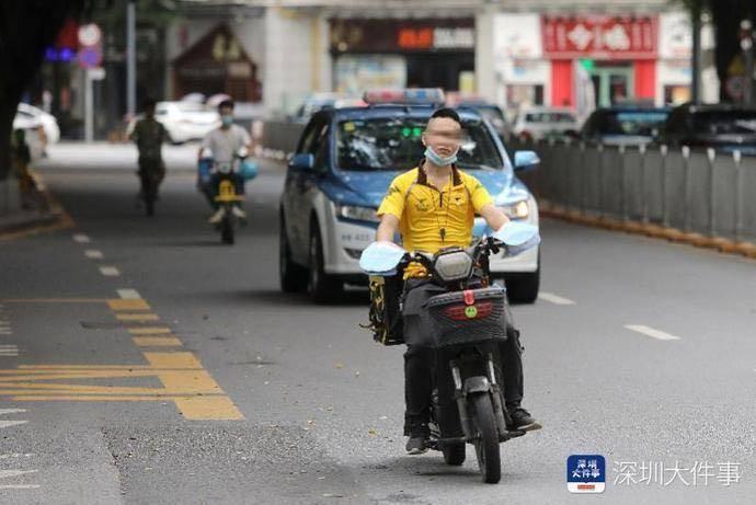 深圳交警大数据达达交通违法率最高闪送环比上涨最高